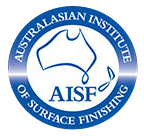 Australiasian Institute of Surface Finishing (AISF) logo